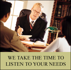 Attorney with Clients - Family Law in Southfield, MI